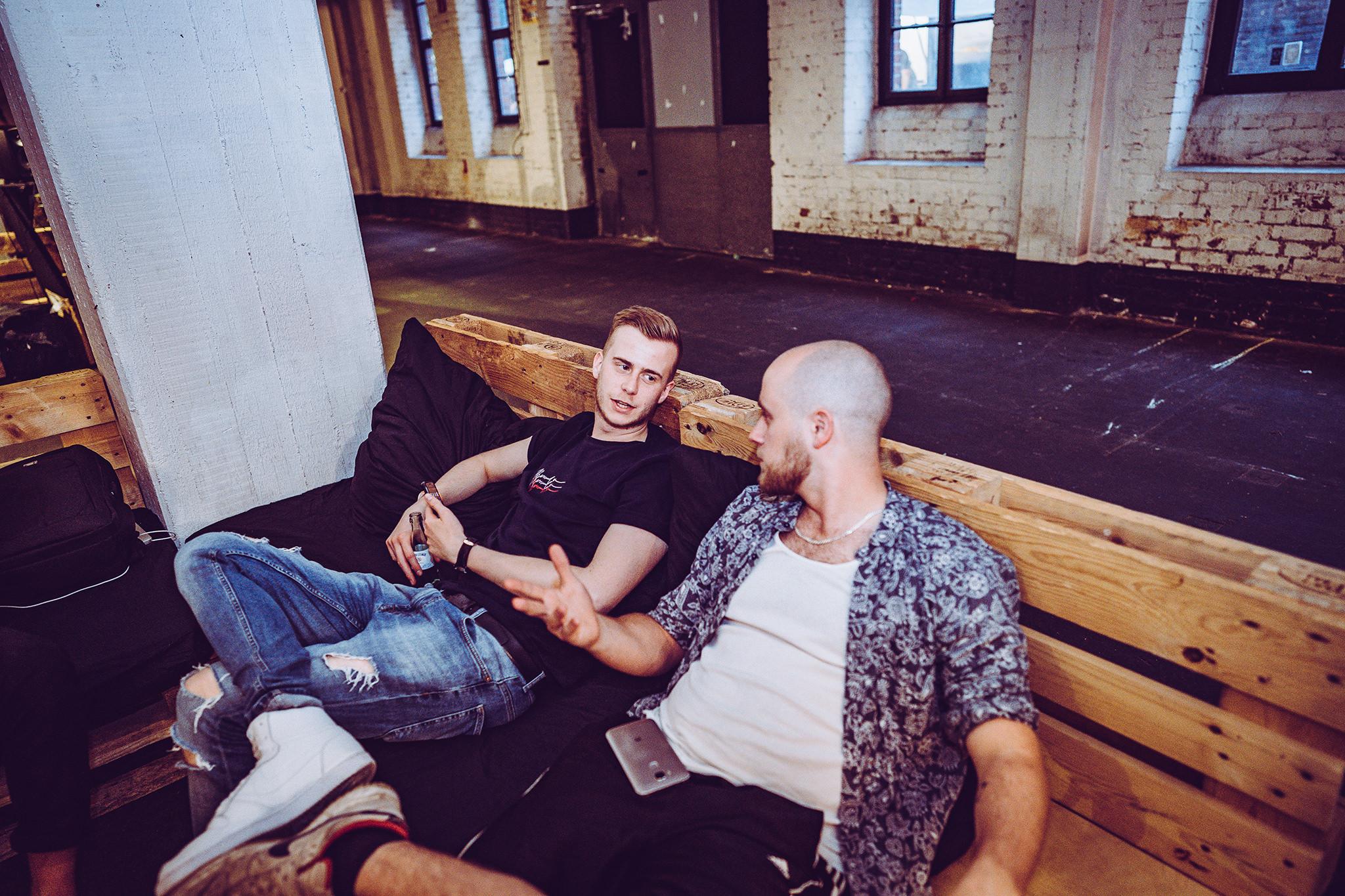 Jonas Lindemann und Clark Senger