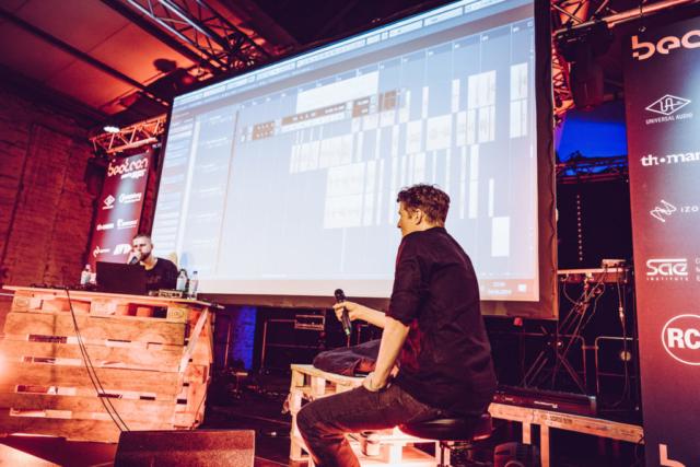 Tua und Falk Schacht auf der SNIPES Stages