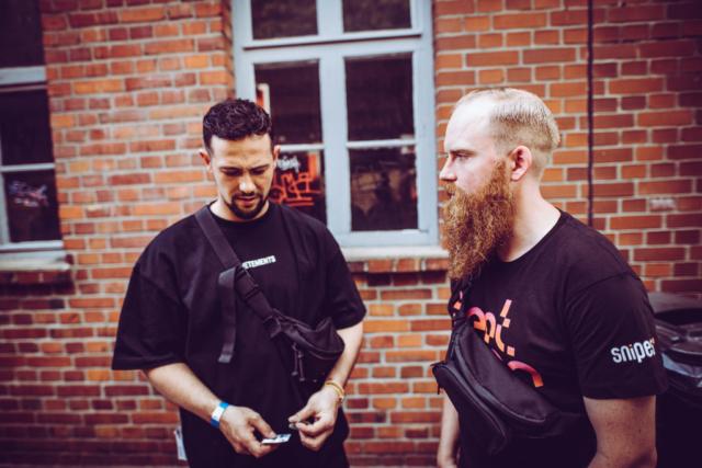 Juh-Dee und Tobias 'Toxik' Kargoll