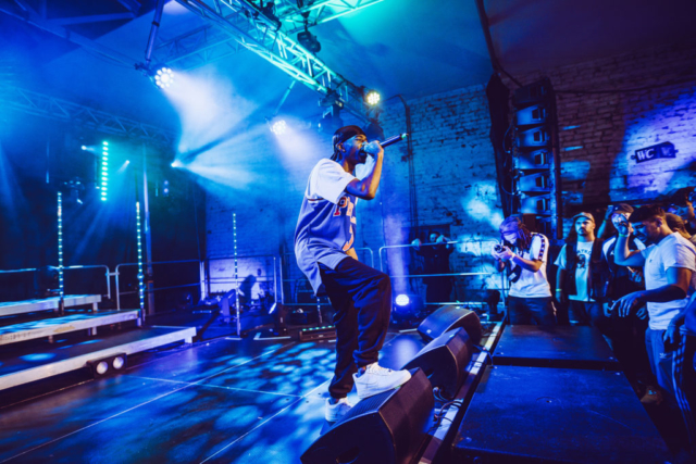 Elias live on SNIPES Stage